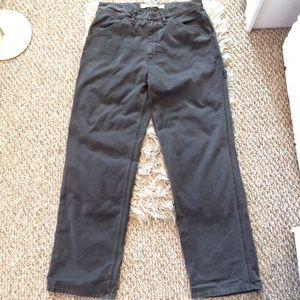 Gap Gray Carpenter Cargo Pants